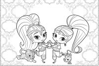 Printable Shimmer and Shine Coloring Pages - 12 Inspirational Shimmer and Shine Printable Coloring Pages