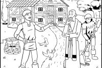 Prodical son Coloring Pages - Prodical son Coloring Pages Unique Prodigal son Coloring Pages