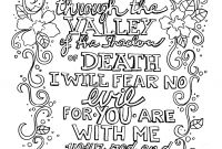 Psalms Coloring Pages - Link Coloring Pages