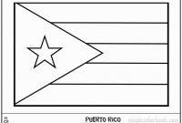 Puerto Rico Coloring Pages - 28 Best Small Puerto Rican Flag S