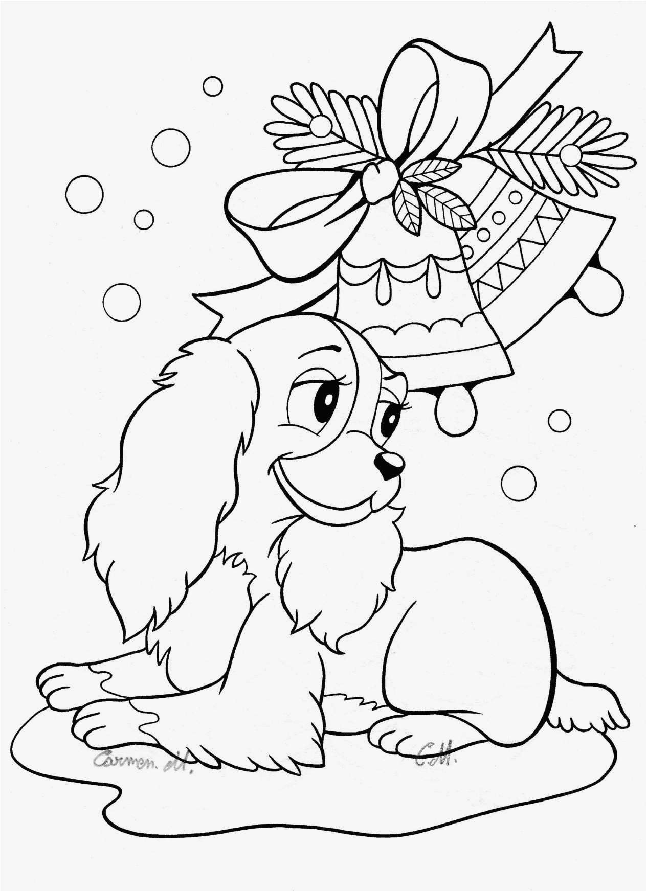 Puppy Coloring Pages  Gallery 13a - Free For Children