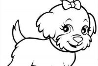 Puppy Coloring Pages - Puppy Coloring Pages Dog Stencil Pinterest