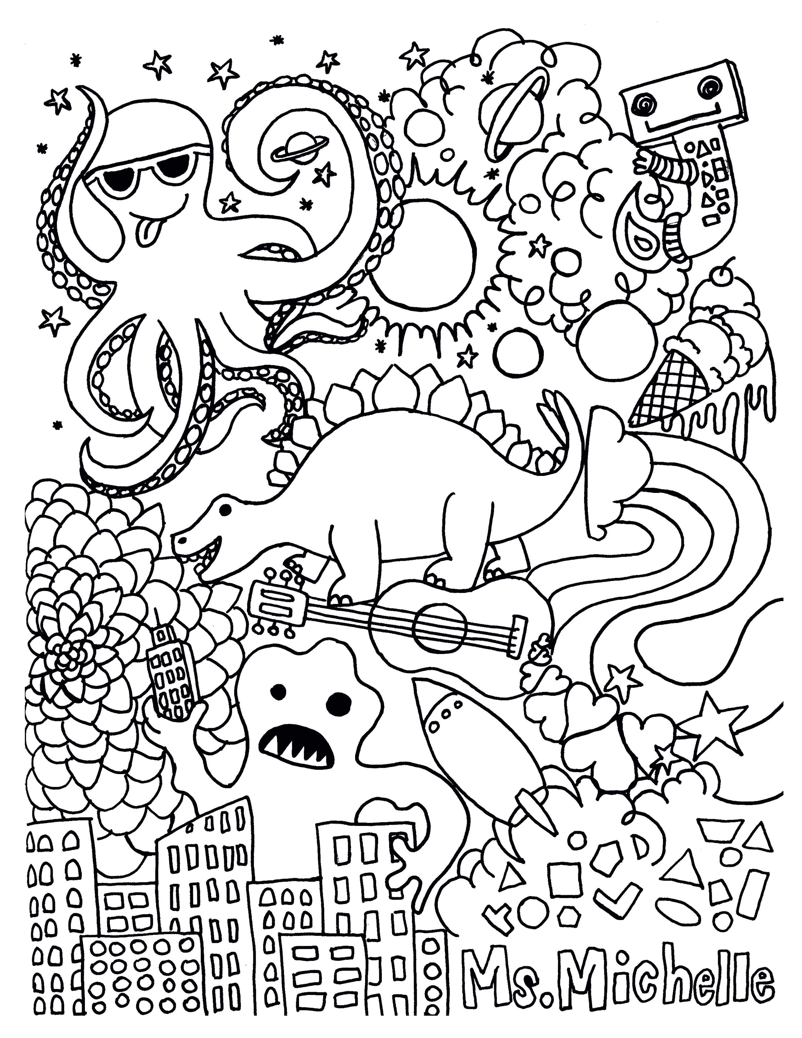 Puzzle Coloring Pages  Collection 10p - To print for your project