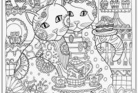 Realistic Cat Coloring Pages - Cat Coloring Pages for Adult Realistic Coloring Pages