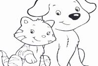 Realistic Cat Coloring Pages - Dog and Cat Coloring Pages