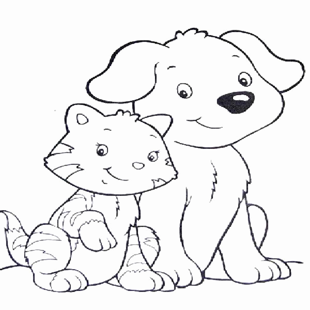 Realistic Cat Coloring Pages  Gallery 13m - Free For Children