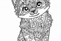 Realistic Cat Coloring Pages - Realistic Cat Coloring Pages Awesome Free Cat Page to Print and