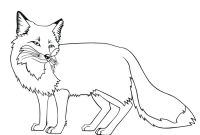 Realistic Fox Coloring Pages - Free Printable Fox Coloring Pages for Kids Art