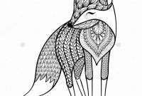 Realistic Fox Coloring Pages - Luxury Picture A Fox – Yepigames