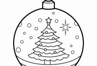 Renaissance Coloring Pages - Free Printable Christmas ornament Coloring Pages Christmas Drawing