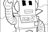 Robot Coloring Pages - Destiny Roblox Coloring Pages A Robot Hello Unk On Unconditional