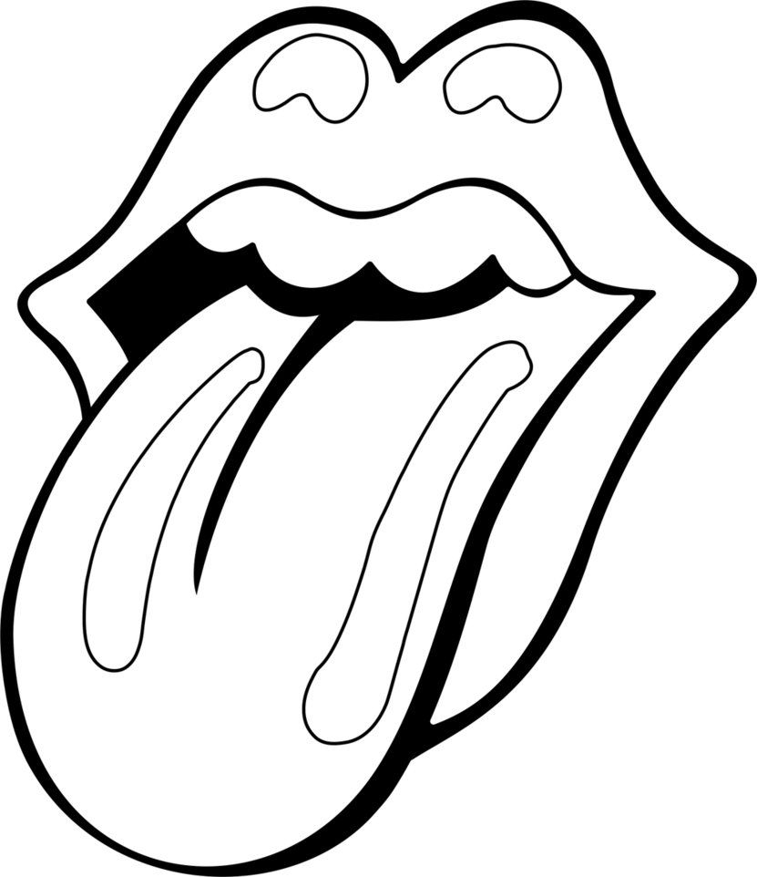 Rolling Stones Coloring Pages to Print 15g - Save it to your computer