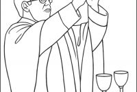 Rolling Stones Coloring Pages - Sacrament Of Holy Munion – the Eucharist Coloring Page
