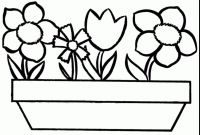Rose Coloring Pages - Coloring Pages Roses Vases Flower Vase Coloring Page Pages