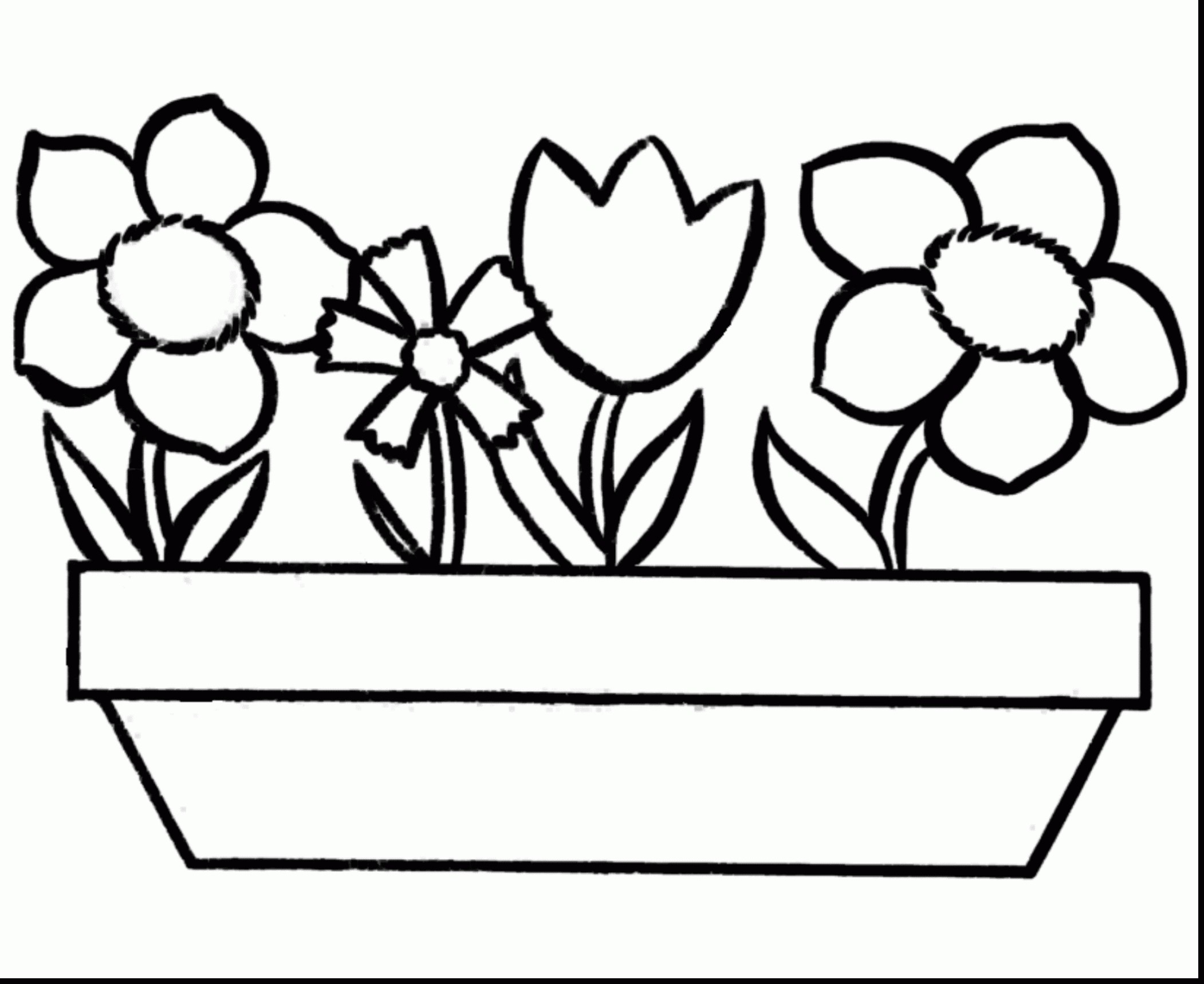 Rose Coloring Pages  to Print 17t - Save it to your computer