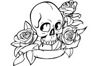 Rose Coloring Pages - Coloring Pages Skulls and Roses Coloring Pages Coloring Pages