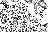 Rose Coloring Pages - Rose Coloring Pages Free Girl Coloring Luxury Color Sheets Elegant