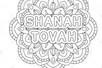 Rosh Hashanah Coloring Pages - Coloring Page Stock S & Coloring Page Stock Alamy