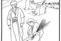 Ruth Coloring Pages - Ruth and Boaz Coloring Pages Printable
