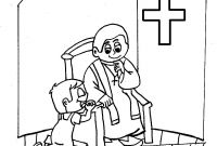 Sacrament Coloring Pages - Versöhnung Coloring Pages