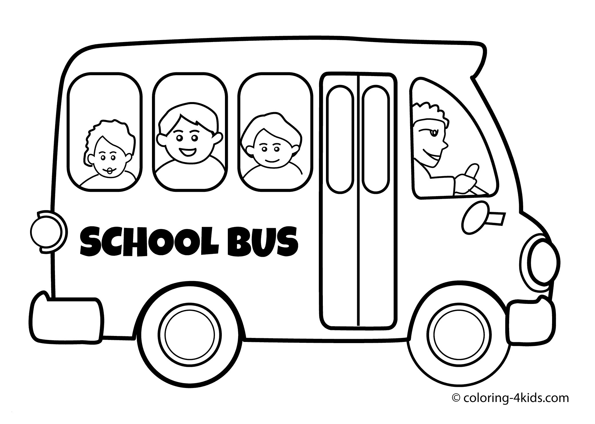 School Bus Coloring Pages Printable  Gallery 9l - Free For kids