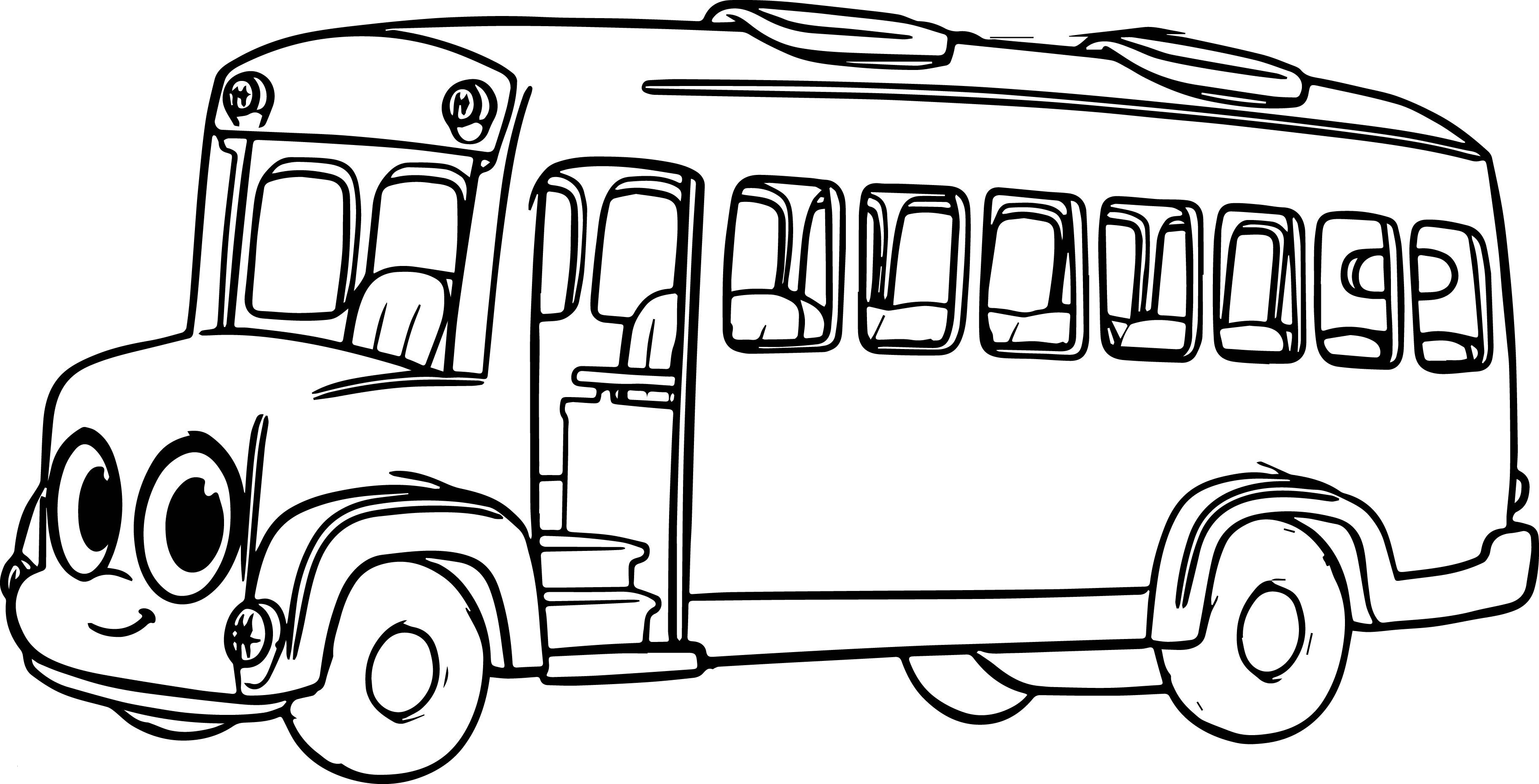 School Bus Coloring Pages Printable  Gallery 5h - Save it to your computer