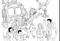 School Bus Coloring Pages Printable - Magic School Bus Coloring Page School Bus Coloring Pages Printable
