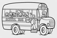 School Bus Coloring Pages Printable - School Bus Color Page Coloring Pages Pinterest