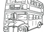 School Bus Coloring Pages Printable - School Bus Coloring Page