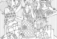 Shopping Coloring Pages - Line Shopping Christmas Amazing Christmas Coloring Pages for Free
