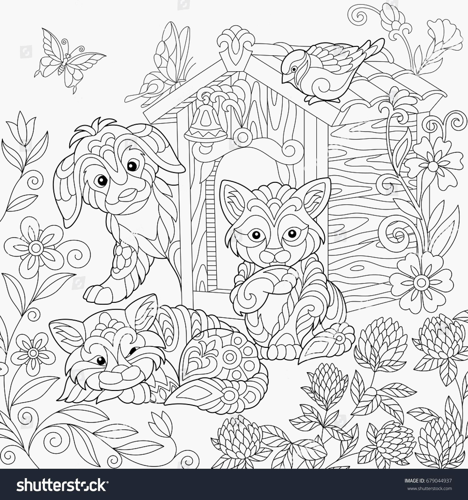Shutterstock Coloring Pages  Download 11b - Free Download