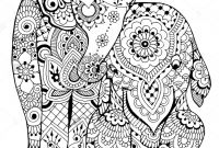 Shutterstock Coloring Pages - Planets Coloring Pages Beautiful Elephants Coloring Page I – Free