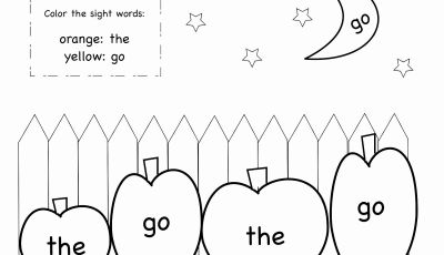 Sight Word Coloring Pages Printable - 25 Elegant Sight Word Coloring Pages Pdf