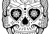 Skull Printable Coloring Pages - Cool Sugar Skulls Coloring Pages Printable Mandalas Inside Skull for