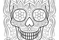 Skull Printable Coloring Pages - Skeleton Head Printable Printable Coloring Pages Archives Page 42