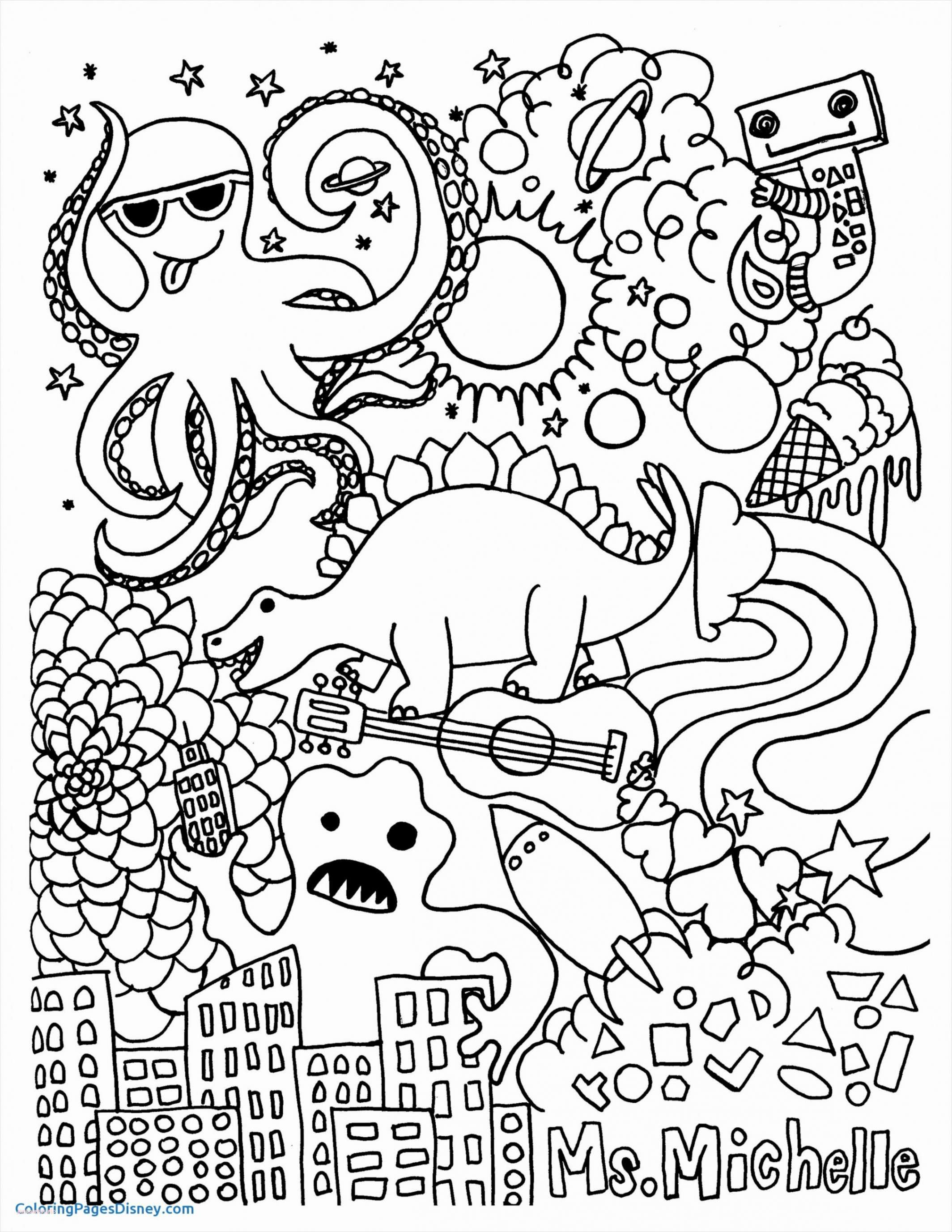 Skull Printable Coloring Pages  Collection 5r - Free For Children