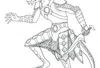 Skyrim Coloring Pages - Skyrim Female Khajiit Coloring Pages