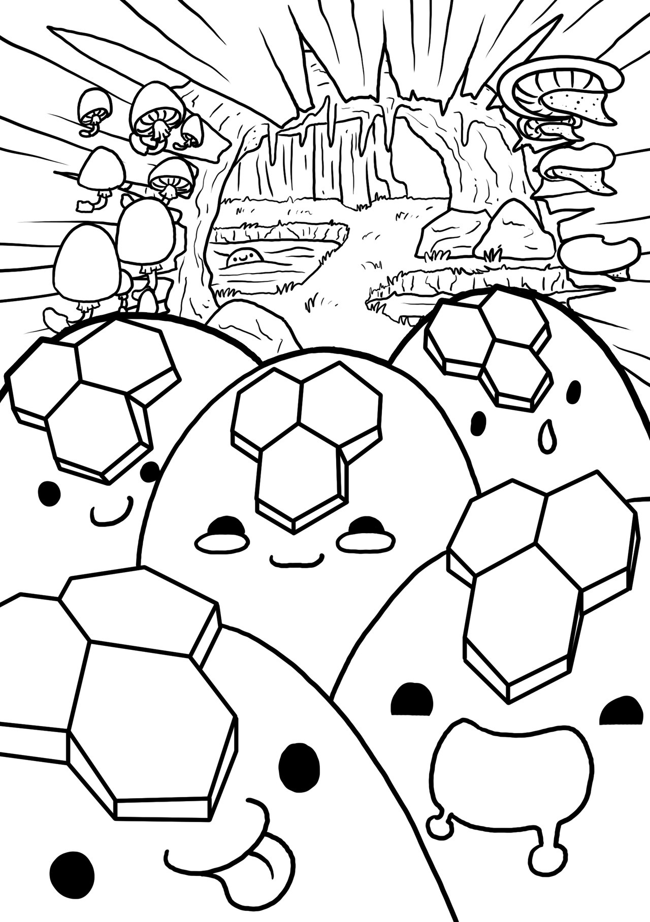 Slime Rancher Coloring Pages  to Print 9h - Free Download