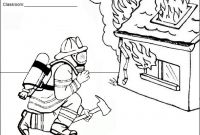 Smokey the Bear Coloring Pages - Fire Department Coloring Pages