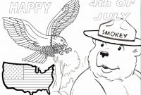 Smokey the Bear Coloring Pages - Free Smokey the Bear Coloring Pages