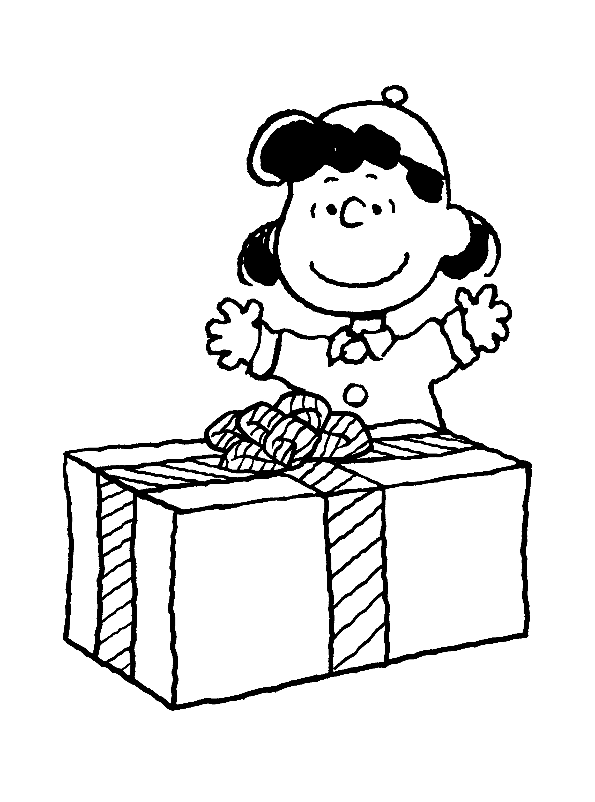 Snoopy Christmas Coloring Pages  Collection 16t - Save it to your computer