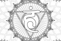 Solar Energy Coloring Pages - Coloring Page Chakra 5 Vishuddha Speech and Creative