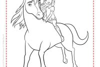 Spirit Coloring Pages - Here to the Netflix Spirit Riding Free Coloring Page
