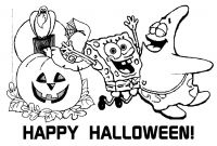Sponge Bob Halloween Coloring Pages - Halloween Coloring Pages Pdf Elegant Spongebob Coloring Pages Pdf