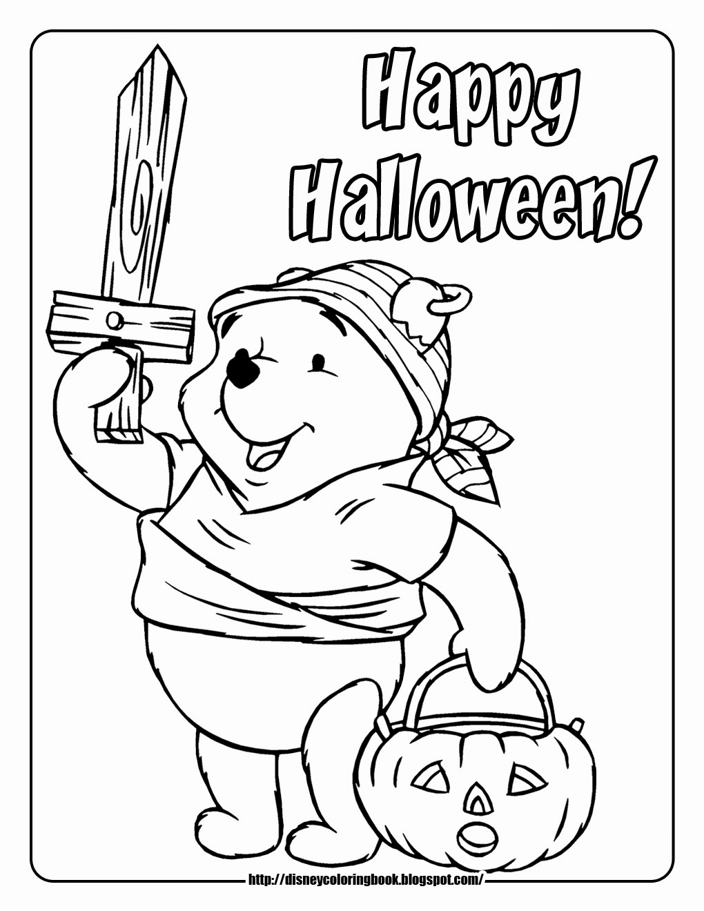 Sponge Bob Halloween Coloring Pages  to Print 13m - To print for your project