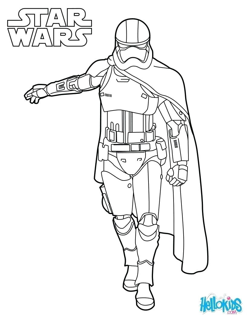 Star Wars the force Awakens Coloring Pages  Printable 6k - Free For kids