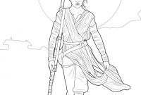 Star Wars the force Awakens Coloring Pages - Rey Star Wars Vii Coloring Pages Rey Art Quilts