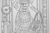 Steampunk Gears Coloring Pages - Creative Haven Steampunk Fashions Coloring Book Creative Haven