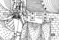 Steampunk Gears Coloring Pages - Steampunk Illustration Shutterstock