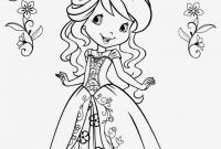Strawberry Shortcake Coloring Pages - Coloring Page